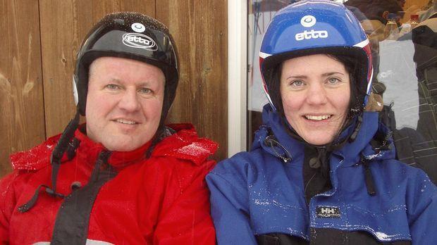 Thorsten und Jeanette Sperlich sind glücklich in ihrer neuen Heimat Norwegen,...