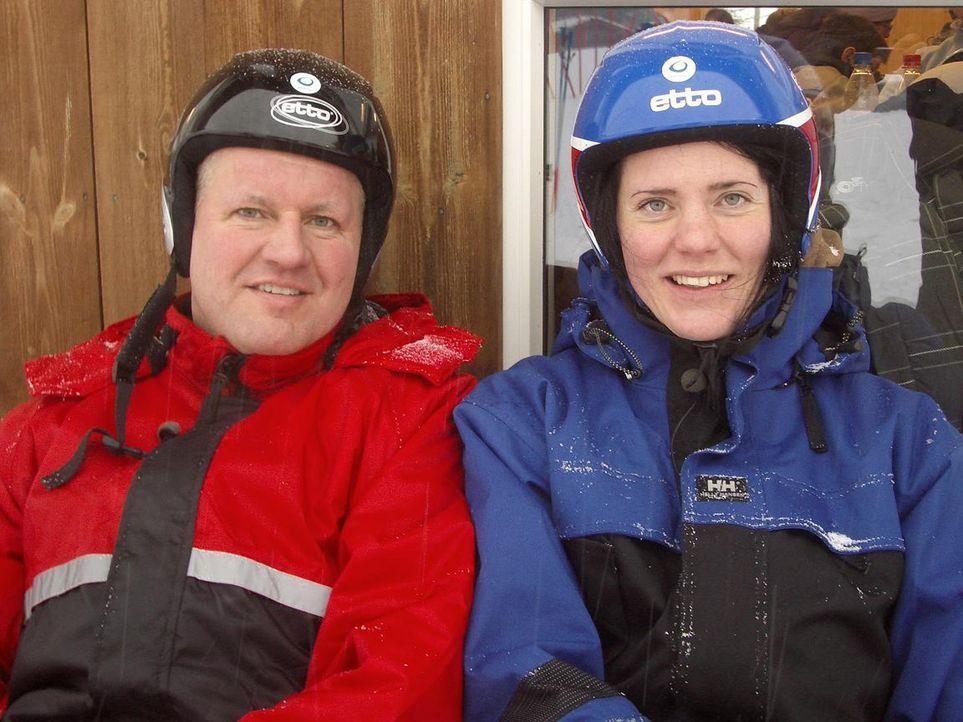 Thorsten und Jeanette Sperlich sind glücklich in ihrer neuen Heimat Norwegen, ein Zurück gibt es nicht. Beide haben Jobs mit guter Bezahlung und i... - Bildquelle: kabel eins