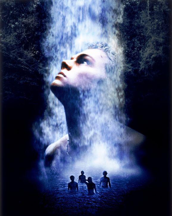 Eine geheime Landkarte führt Richard (Leonardo DiCaprio, M.) auf eine mysteriöse Insel, die von einer Kommune bewohnt wird. Was wie ein Traum begi... - Bildquelle: 2011 Twentieth Century Fox Film Corporation. All rights reserved.
