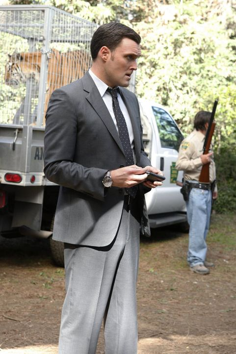 Versucht, gemeinsam mit seinen Kollegen einen Mordfall aufzuklären: Wayne (Owain Yeoman) ... - Bildquelle: Warner Bros. Television