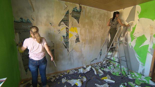 Fünf Hobby-Heimwerker, fünf Wohnräume, 500 Euro Budget: Die