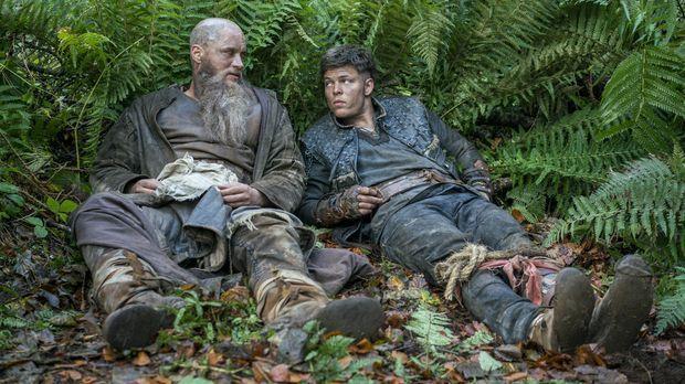 Ragnars Flotte hat Schiffbruch erlitten und wurde an die Küste von England ge...