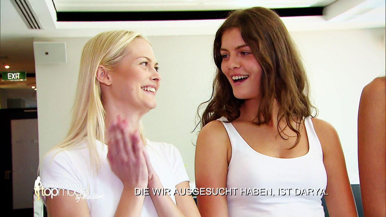 GNTM-Stf10-Epi09-Casting-Heidi-Klum-Intimates-19-ProSieben - Bildquelle: ProSieben