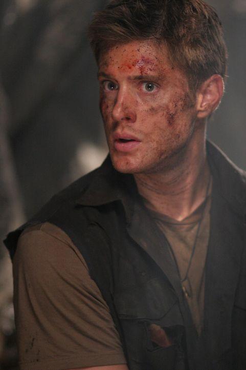 Auf der Suche nach ihrem Vater machen Dean (Jensen Ackles) und Sam Bekanntschaft mit einer Bestie ... - Bildquelle: Warner Bros. Television