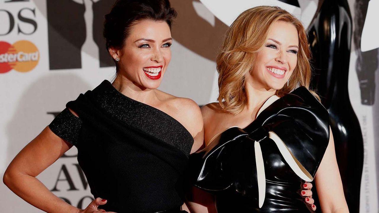 Brit-Awards-Kylie-Dannii-Minogue-14-02-19-AFP - Bildquelle: AFP