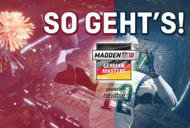Madden NFL 18 German Masters - So gehts
