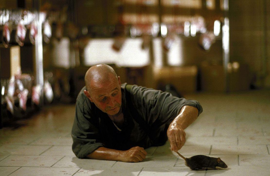 Dinter (Helmut Lorin) ist der Experte bei der Jagd nach den Ratten. Doch dann verunglückt er tödlich ... - Bildquelle: Jiri Hanzl ProSieben