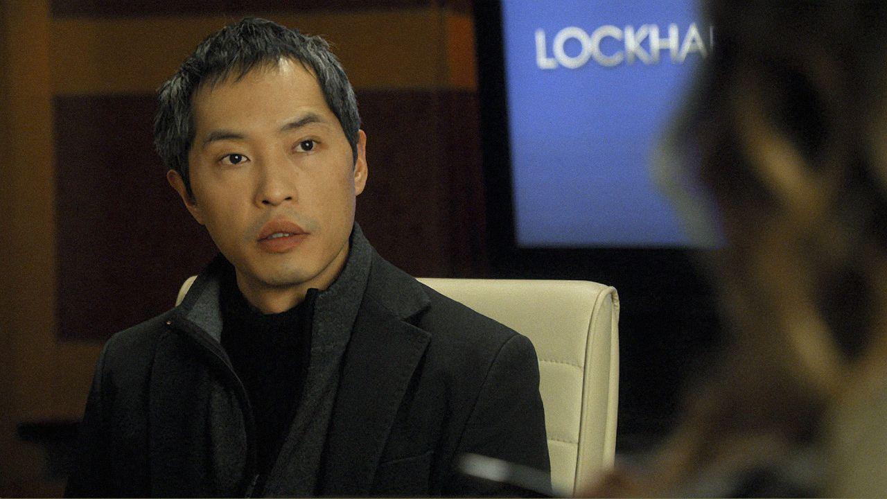 Der chinesischen Dissident Shen Yuan (Ken Leung) wendet sie an die Kanzlei Lockhart-Gardner und Bond, um die Suchmaschine Chumhum zu verklagen. - Bildquelle: CBS   2011 CBS Broadcasting Inc. All Rights Reserved.