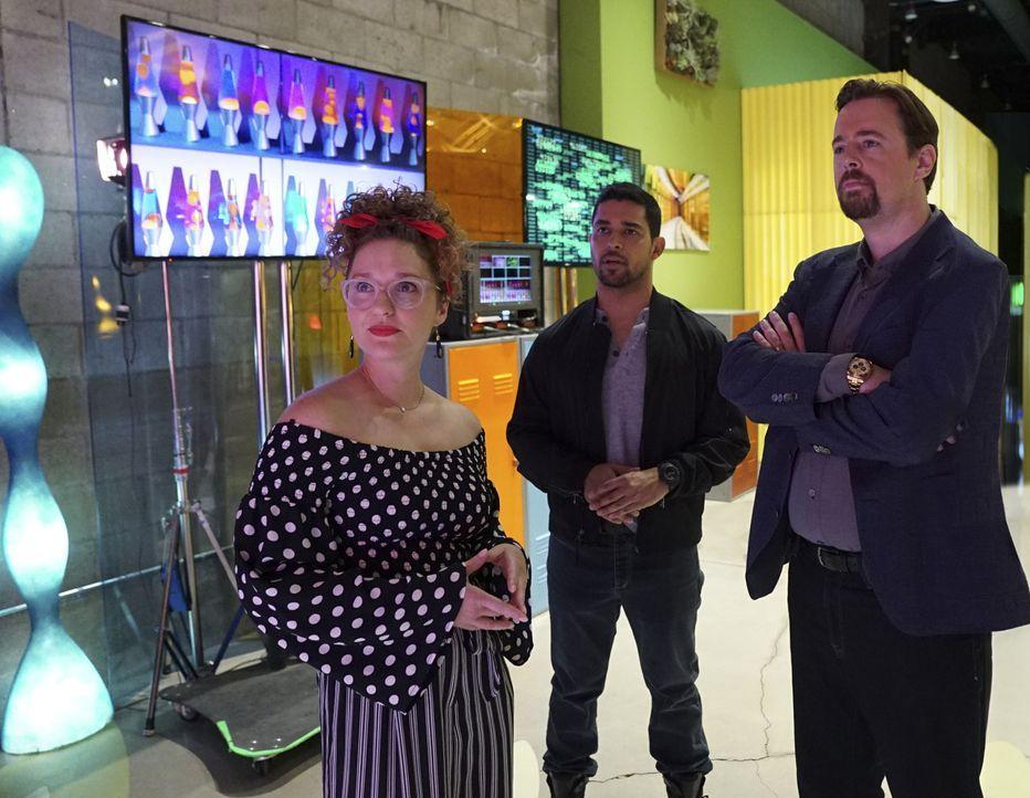 (v.l.n.r.) Emma Thatcher (Lauran September); Nick Torres (Wilmer Valderrama); Timothy McGee (Sean Murray) - Bildquelle: Sonja Flemming 2018 CBS Broadcasting, Inc. All Rights Reserved/Sonja Flemming