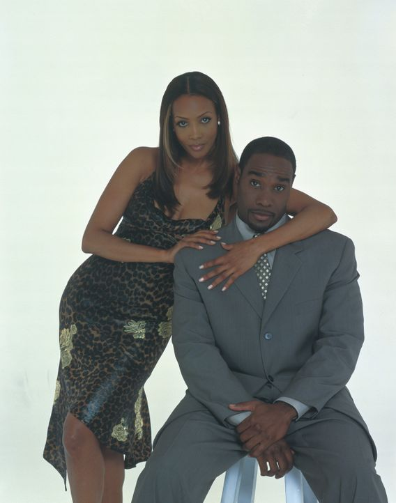 Treten zum Kampf der Geschlechter an: Shanté Smith (Vivicia A. Fox, l.) und Keith (Morris Chestnut, r.) ... - Bildquelle: 2003 Sony Pictures Television International. All Rights Reserved.