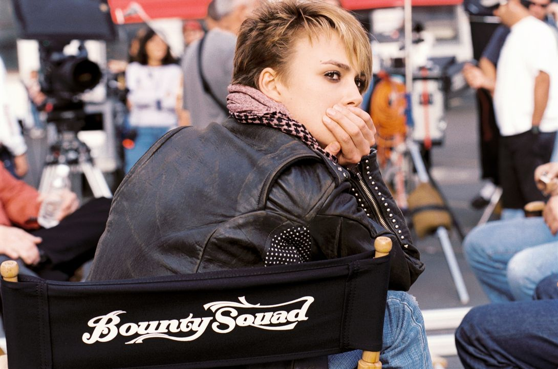 Hat Zweifel an der Karriere als TV-Star: Domino (Keira Knightley) ... - Bildquelle: Constantin Film
