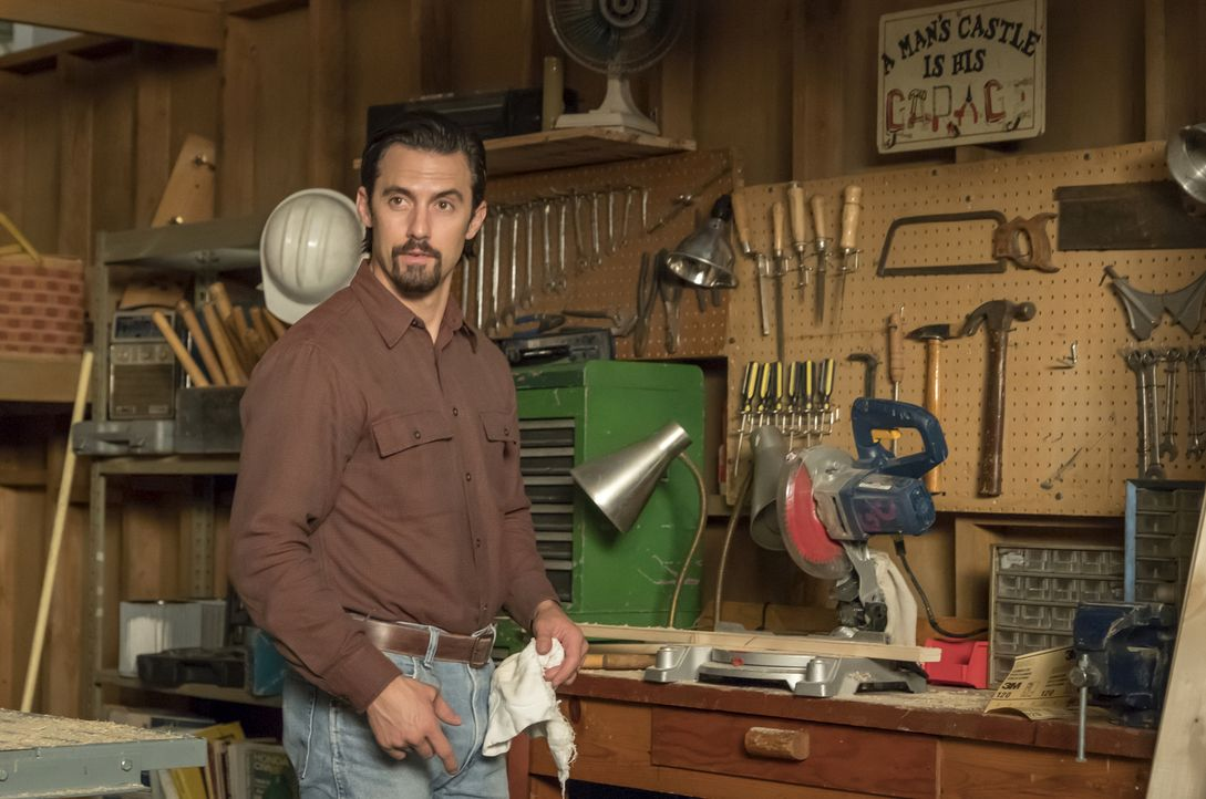 Jack Pearson (Milo Ventimiglia) - Bildquelle: Ron Batzdorff 2017-2018 NBCUniversal Media, LLC.  All rights reserved./Ron Batzdorff