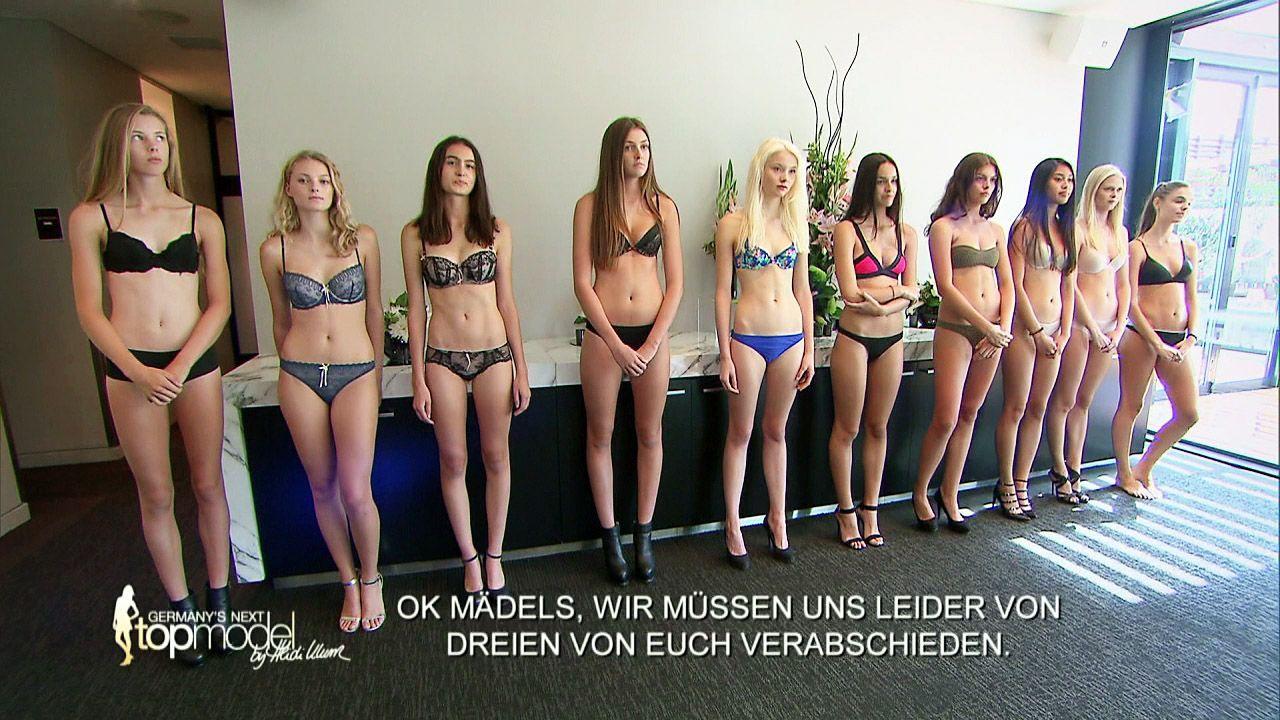 GNTM-Stf10-Epi09-Casting-Heidi-Klum-Intimates-15-ProSieben - Bildquelle: ProSieben