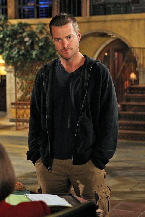 Um mehr über seine Vergangenheit zu erfahren, lässt sich Callen (Chris O'Donnell) auf einen Deal ein ... - Bildquelle: CBS Studios Inc. All Rights Reserved.