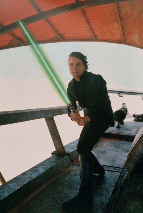 Um Han Solo befreien zu können, muss Luke Skywalker (Mark Hamill) in die Höhle des Jabba ein eindringen ... - Bildquelle: Lucasfilm LTD. & TM. All Rights Reserved.