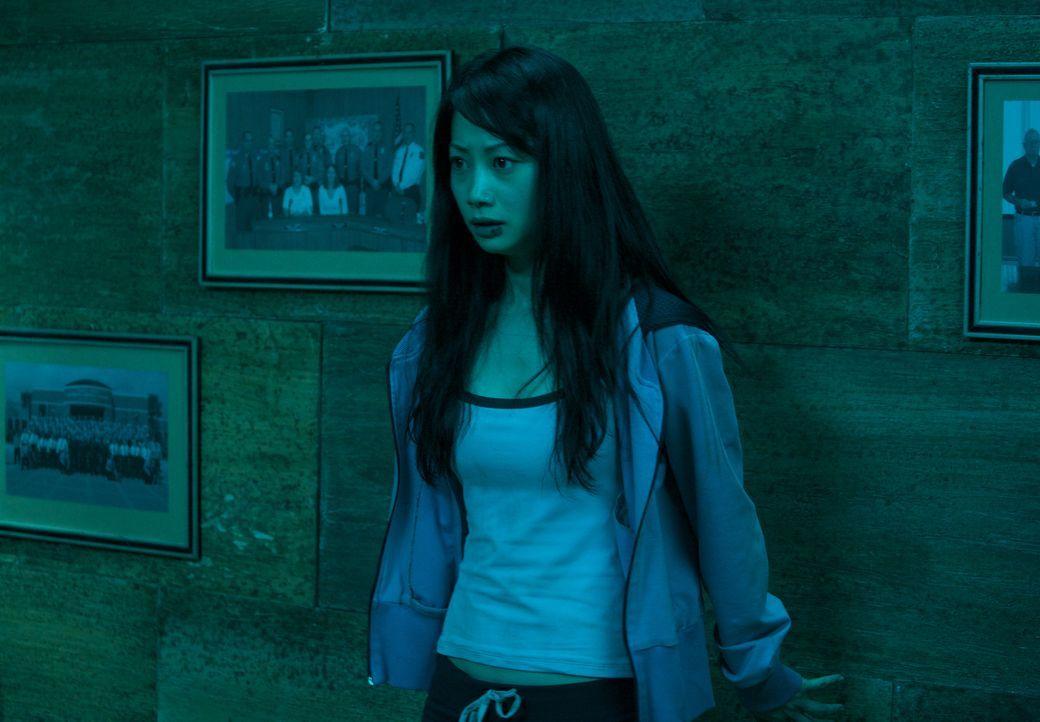 Gerät ins Visier eines ehemaligen, rachsüchtigen Verehrers: Namiko (Mika Hijii) ... - Bildquelle: Nu Image