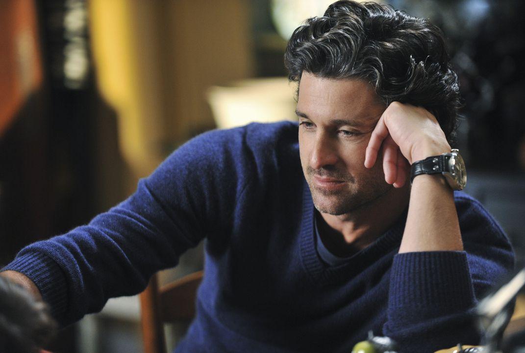 Eine ganz besondere Überraschung wartet auf  Derek (Patrick Dempsey) ... - Bildquelle: ABC Studios