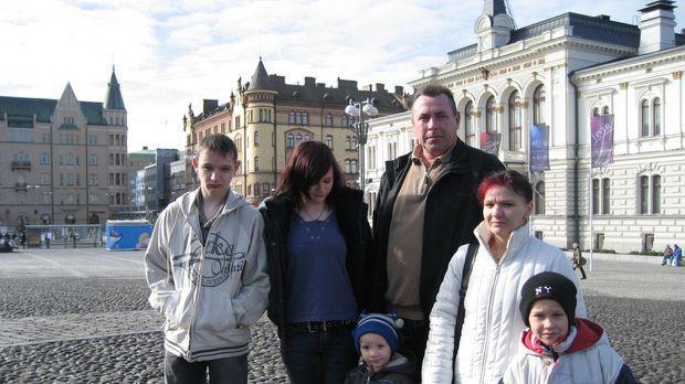 Familie Görtzen - Weber beginnt ein neues Leben in Finnland ... © kabel eins