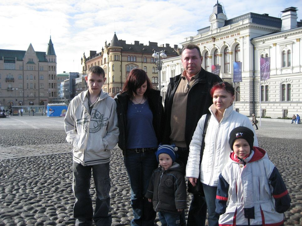 Familie Görtzen - Weber beginnt ein neues Leben in Finnland ... - Bildquelle: kabel eins