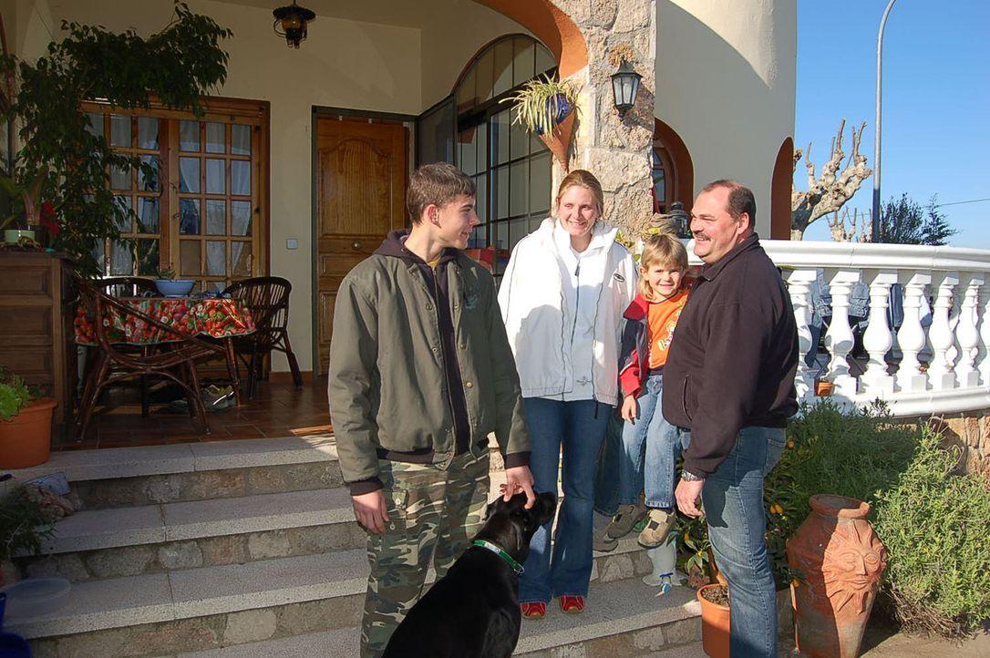 Familie Ziegler aus Sachsenheim bei Stuttgart ist im August letzten Jahres an die Costa Brava ausgewandert. - Bildquelle: kabel eins