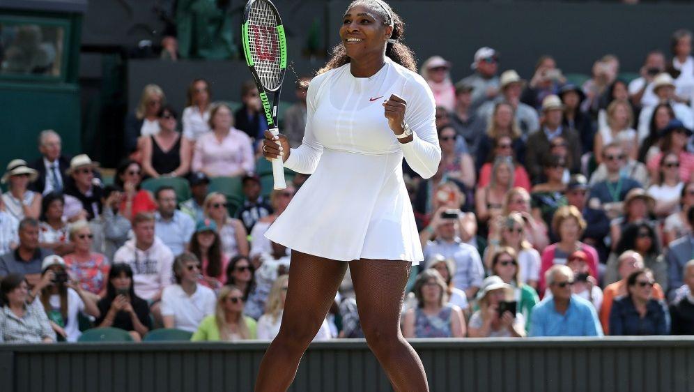 Serena Williams erreicht das Halbfinale von Wimbledon - Bildquelle: AFPSIDDaniel LEAL-OLIVAS