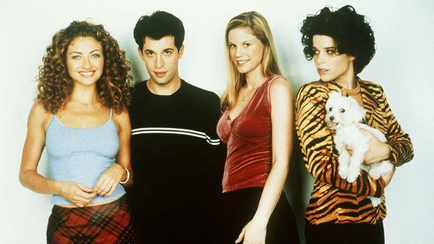 Liebe mit Hindernissen: (v.l.n.r.) Jennifer (Rebecca Gayheart), Danny (Dean P...
