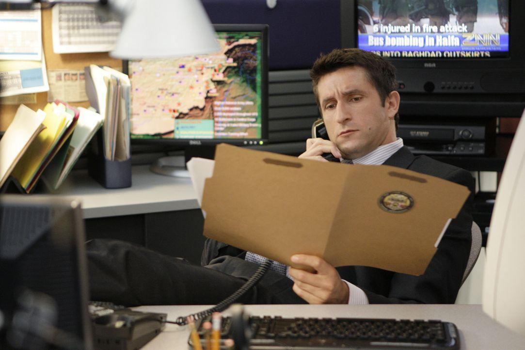 Soll Gibbs in einem neuen Fall unterstützen: NCIS Special Agent Brent Langer (Jonathan LaPaglia) ... - Bildquelle: CBS Television