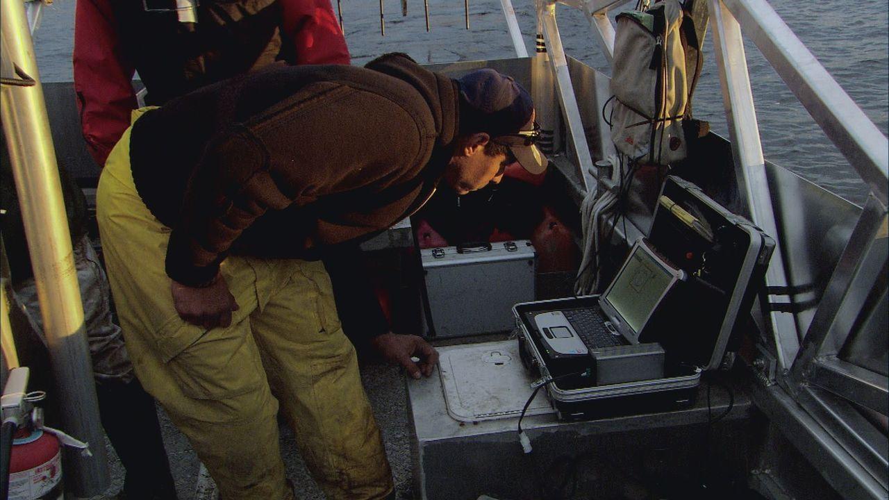 Mike muss sich mit einem fehlerhaften Bombendetektor herumärgern ... - Bildquelle: 2012 PIXCOM PRODUCTIONS INC.