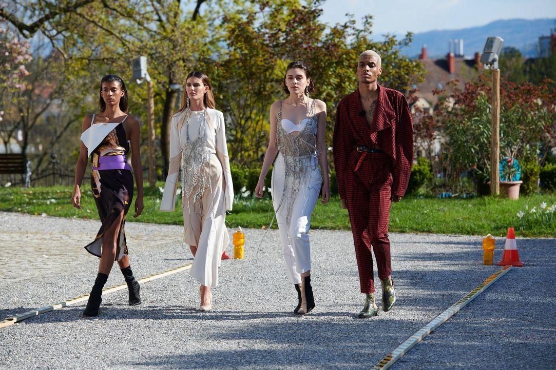 04_Anna_Vanessa_Vivienne_Saviour_Team Dandy Diary_P7_SNTM1_0175 - Bildquelle: ProSieben Schweiz