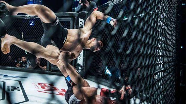Top 10: Die besten Knockouts des Jahres 2017 auf ranFIGHTING.de - Bildquelle:...