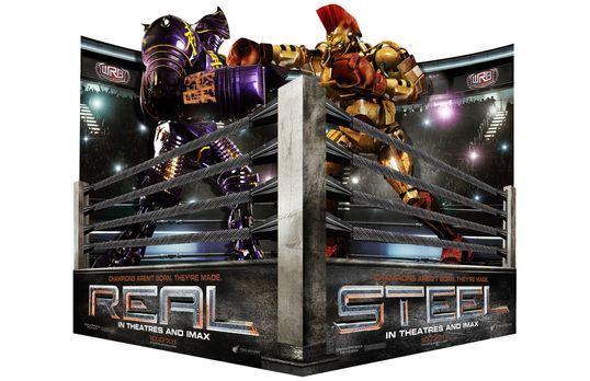Real Steel - Stahlharte Gegner - REAL STEEL - STAHLHARTE GEGNER - Artwork - B...