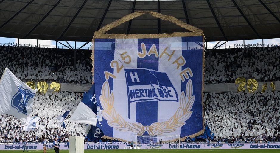 Hertha BSC zum 125. Vereinsjubiläum - Bildquelle: imago/Matthias Koch