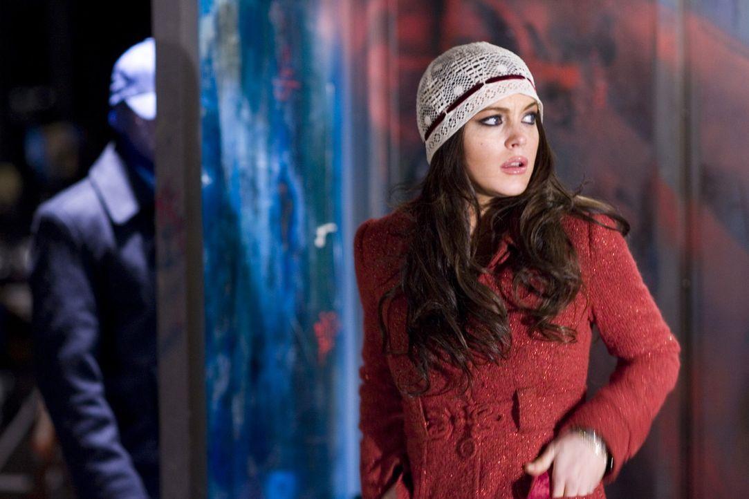 Gibt dem FBI und ihrer Familie Rätsel auf: Aubrey Fleming (Lindsay Lohan) ... - Bildquelle: Sony 2007 CPT Holdings, Inc.  All Rights Reserved.
