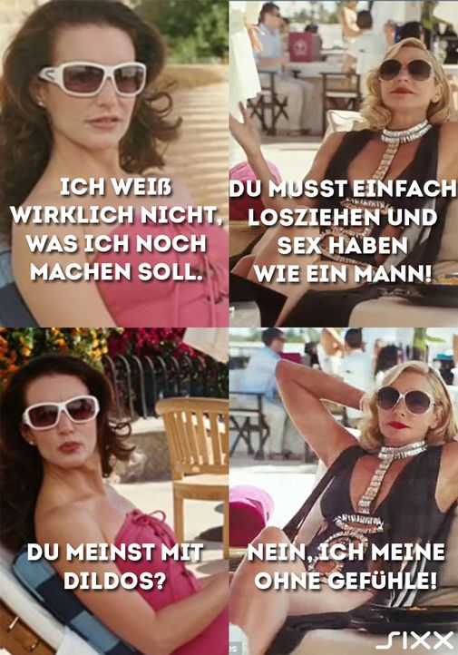 Samantha Jones und Charlotte York
