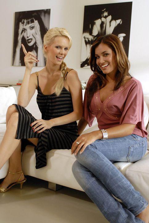 """Jana Ina Carrella, r. und Monica Ivancan, l. nehmen sich heute wieder einen """"Freak"""" vor, dem sie beistehen wollen … - Bildquelle: ProSieben"""