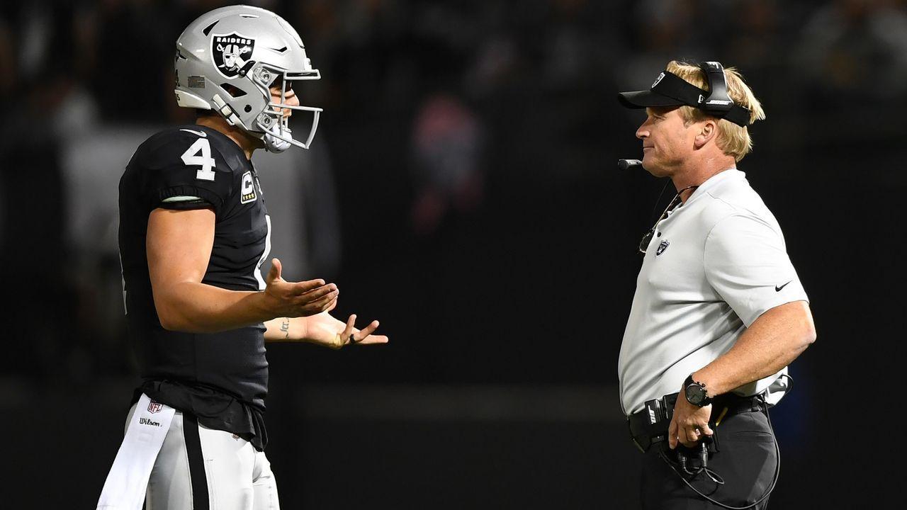 Jon Gruden dreht die Raiders auf links - Bildquelle: 2018 Getty Images