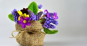 Blumengeschenke erfüllen einen doppelten Zweck: Während der Feier schmücken s...