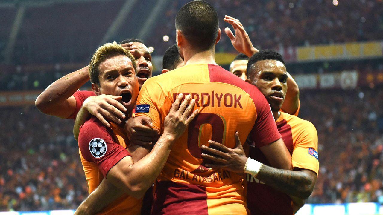 Platz 10: Galatasaray - Bildquelle: imago/Xinhua