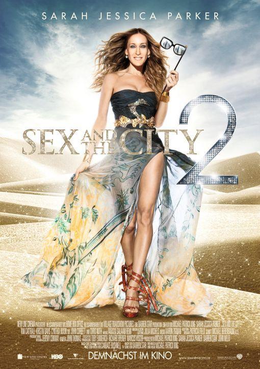 SEX AND THE CITY 2 - Plakatmotiv - Bildquelle: Warner Brothers