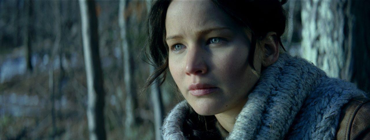 Überall und immer wieder überfallen Katniss (Jennifer Lawrence) schreckliche Alpträume, die ihren Ursprung in den Hungerspielen haben. Da erfährt si... - Bildquelle: Studiocanal GmbH