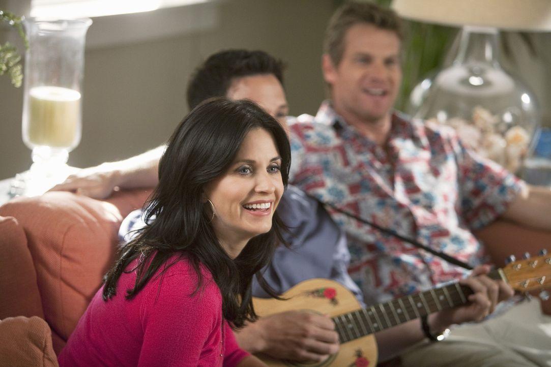 Ist sich nicht sicher, wie sie zu Jeff steht: Jules (Courteney Cox) ... - Bildquelle: 2009 ABC INC.