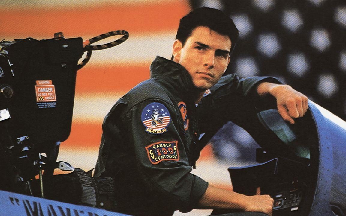 """Auf der Eliteschule """"Top Gun"""" lernt Maverick (Tom Cruise), seinen Ehrgeiz und sein übertriebenes Draufgängertum zu zügeln ... - Bildquelle: PARAMOUNT PICTURES CORPORATION"""