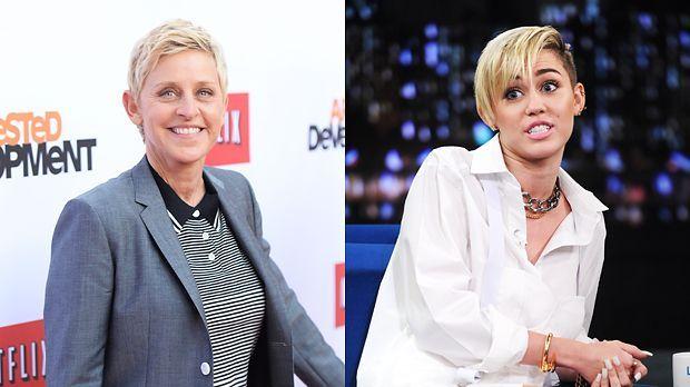 Ellen-DeGeneres-13-04-29-AFP-Miley-Cyrus-13-10-08-AFP - Bildquelle: AFP