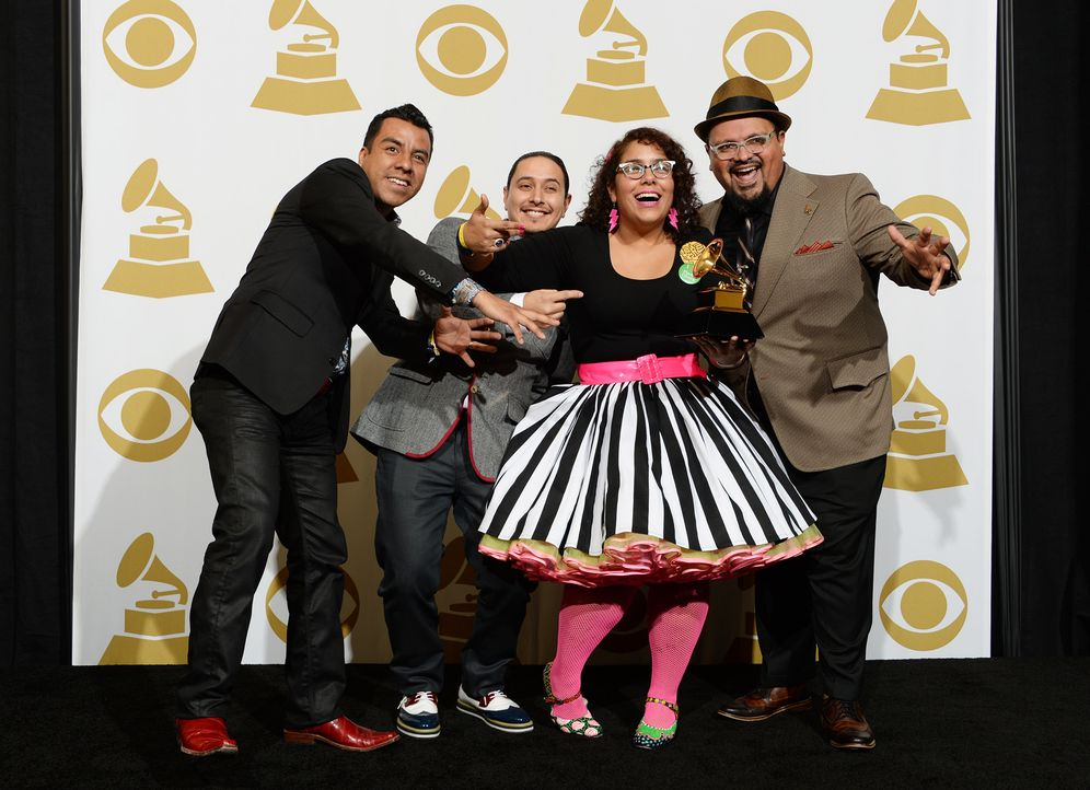 Grammy-Awards-Pepe-Carlos-Alex-Bendana-La-Marisoul-Miguel-Ramirez-14-01-26-AFP - Bildquelle: AFP