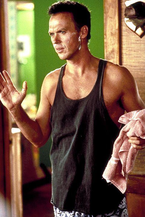 Doug Kinney (Michael Keaton) ist der Verzweiflung nahe: Die Arbeit bricht über ihm zusammen und seine Ehe steckt in einer tiefen Krise ... - Bildquelle: Columbia TriStar