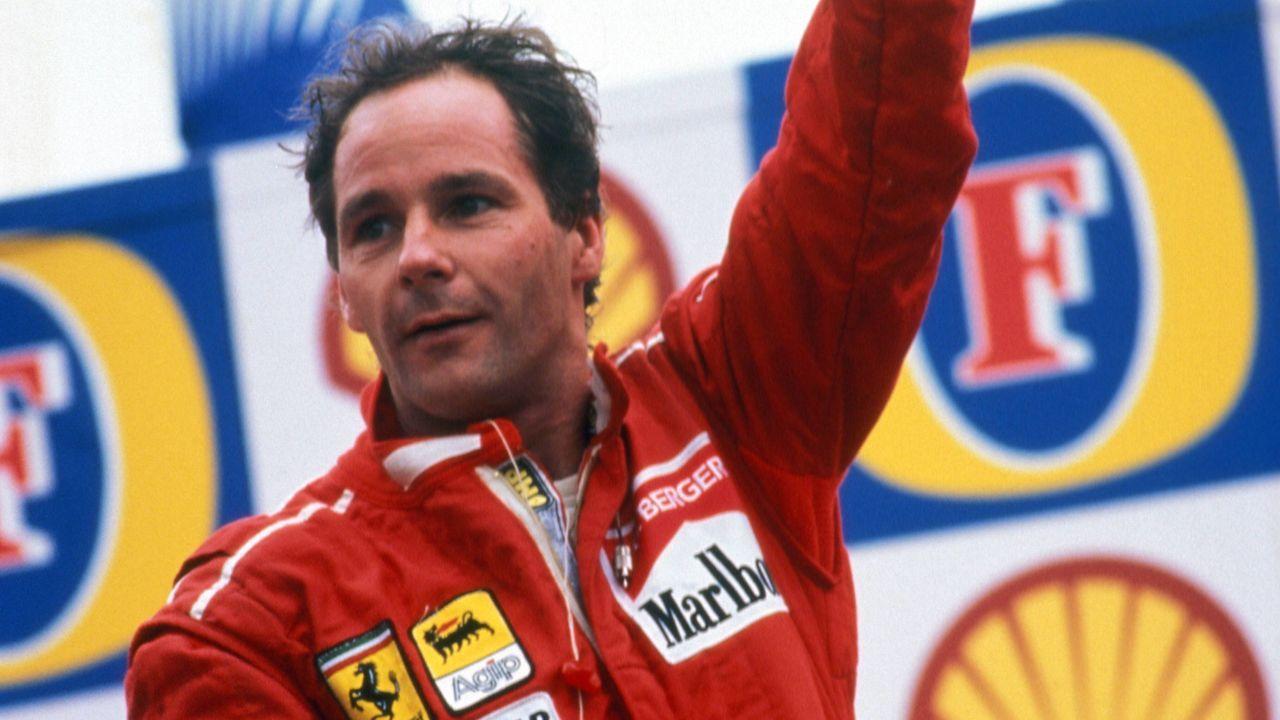 Gerhard Berger – 210 Formel-1-Rennen - Bildquelle: imago/WEREK