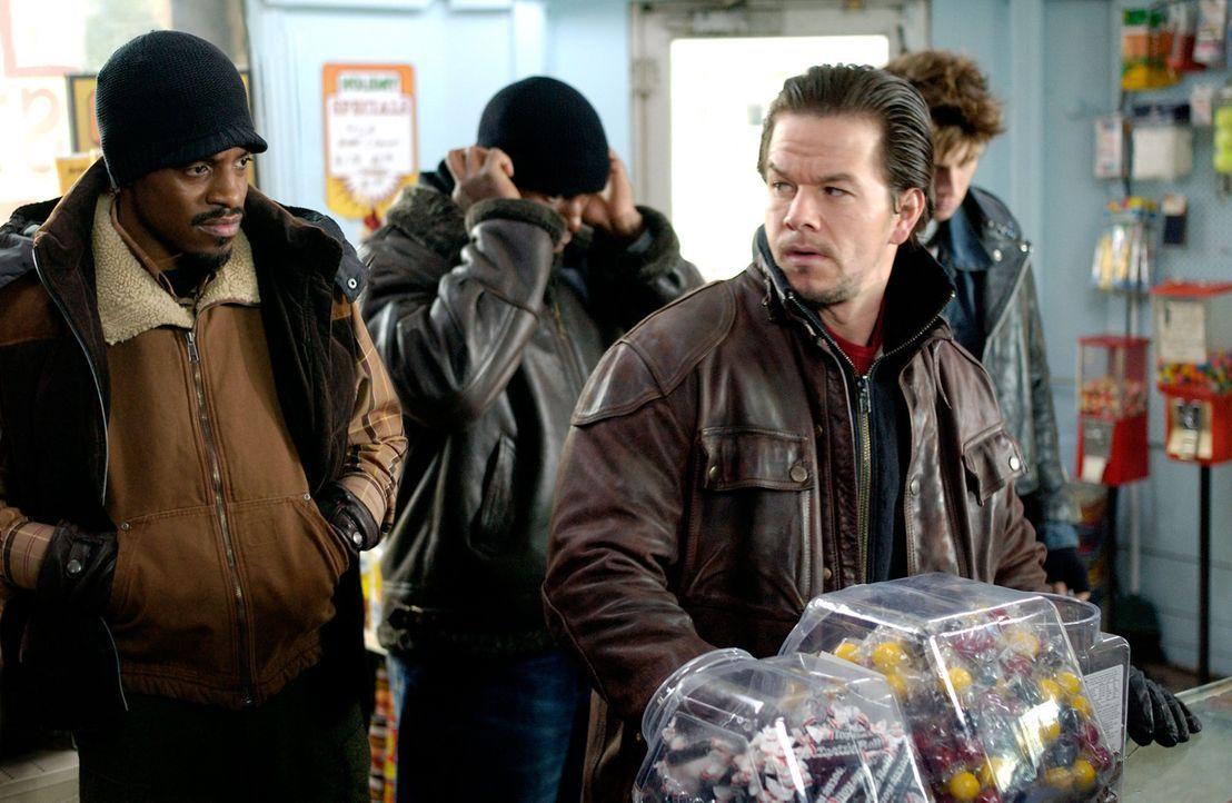 Vier Brüder (v.l.n.r.: Andre Benjamin, Tyrese Gibson, Mark Wahlberg, Garrett Hedlund) schwören, die Ermordung ihrer Mutter zu rächen. Schon bald... - Bildquelle: TM &   2006 Paramount Pictures. All Rights Reserved.