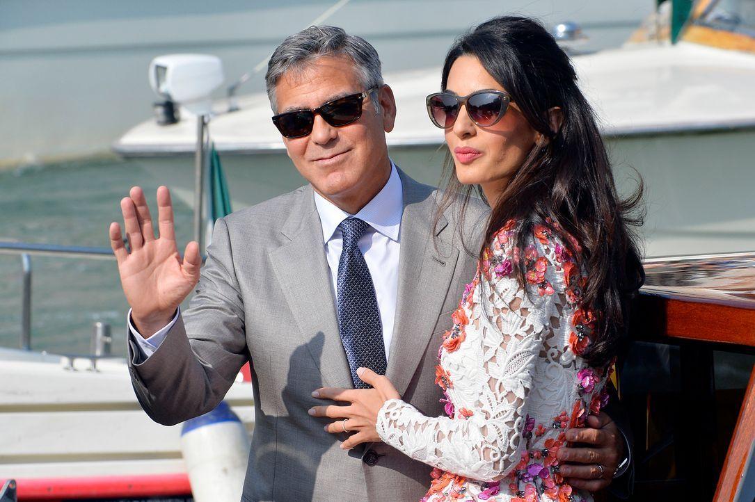 George-Clooney-Amal-Alamuddin-140928-AFP - Bildquelle: AFP