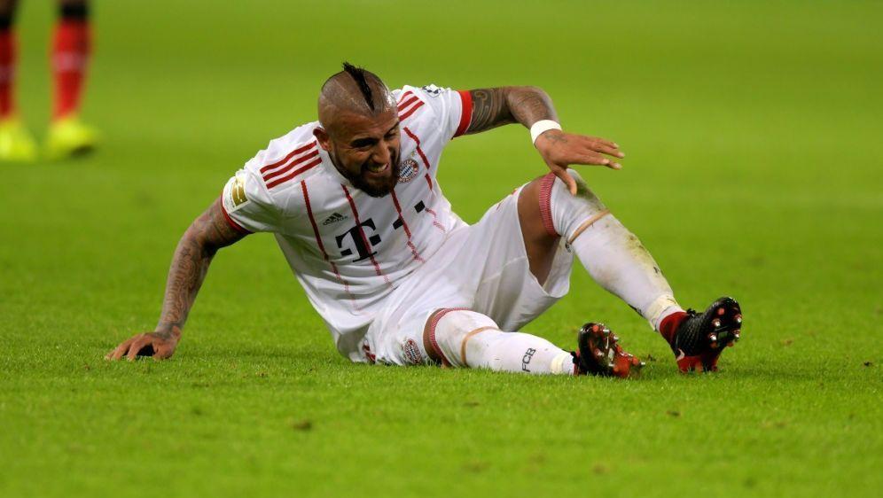 Arturo Vidal fehlt den Bayern im DFB-Pokal gegen Bayer - Bildquelle: PIXATHLONPIXATHLONSID