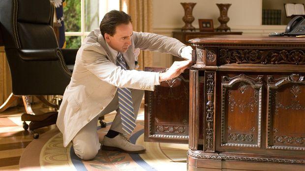 Ein Mann behauptet, dass Benjamin Franklin Gates' (Nicolas Cage) Ururgroßvate...